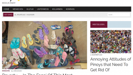 Screenshot Servus Pinoy Online-Magazin